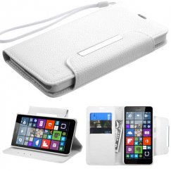 Nokia Lumia 640 White Wallet