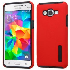 Samsung Galaxy Grand Prime Red/Black Hybrid Case