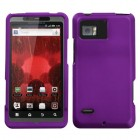 Motorola Droid Bionic Grape Case - Rubberized