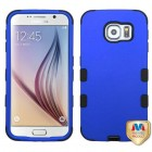 Samsung Galaxy S6 Titanium Dark Blue/Black Hybrid Case