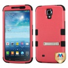 Samsung Galaxy Mega Natural Pink/Black Hybrid Phone Protector Cover (with Stand)