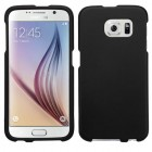 Samsung Galaxy S6 Black Case - Rubberized
