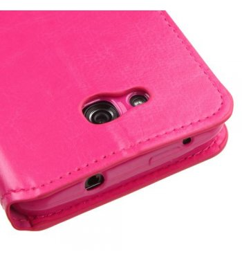 Kyocera Wave / Hydro Air Hot Pink Wallet(with Tray)