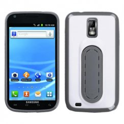 Samsung Galaxy S2 White Snap Tail Stand Case