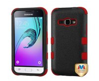 Natural Black/Red TUFF Hybrid Phone Protector Cover