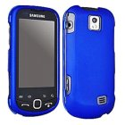 Samsung SPH-M910 Intercept Rubberized Snap On Case, Blue