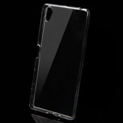 Sony Xperia X SERI-Xperia X Glossy Transparent Clear Candy Skin Cover