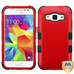 Samsung Galaxy Core Prime Natural Red/Black Hybrid Case