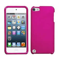 Apple iPod Touch (5th Generation) Solid Hot Pink Case