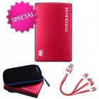 Red Li-ion Power Bank (11000 mAh)