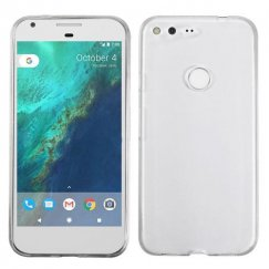 Google Pixel XL Glossy Transparent Clear Candy Skin Cover