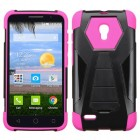 Alcatel Pop Icon 2 Hot Pink Inverse Advanced Armor Stand Protector Cover