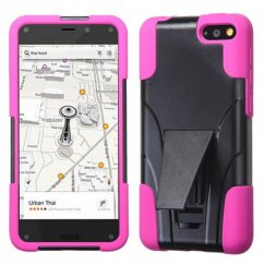 Amazon Amazon Fire Phone Hot Pink Inverse Advanced Armor Stand Case