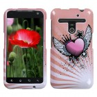 LG Revolution Crowned Heart Phone Protector Cover