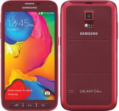 Samsung Galaxy S5 Sport 16GB SM-G860 Waterproof Android Smartphone for Ting - Red