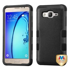 Samsung Galaxy On5 Natural Black/Black Hybrid Case