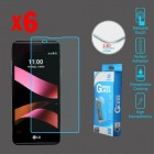 LG X Style / Tribute HD Tempered Glass Screen Protector - 6-pack