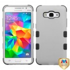 Samsung Galaxy Grand Prime Rubberized Gray/Black Hybrid Case