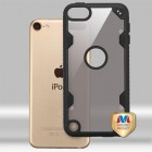 Apple iPod Touch (6th Generation) Transparent Smoke/Black FreeStyle Challenger Hybrid Protector Cover