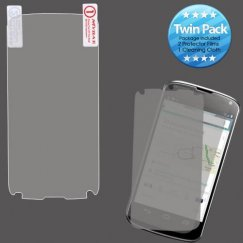 LG Nexus 4 Screen Protector Twin Pack