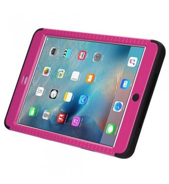 AppleiPad Mini 3rd Gen Natural Hot Pink/Black Hybrid Case with Stand