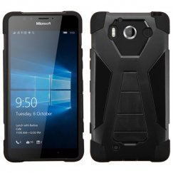 Nokia Lumia 950 Black Inverse Advanced Armor Stand Case