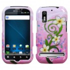 Motorola Photon 4G / Electrify Tropical Flowers Phone Protector Cover