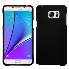 Samsung Galaxy Note 5 Black Case - Rubberized