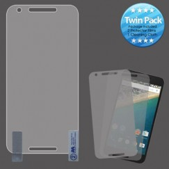 LG Nexus 5X Screen Protector Twin Pack