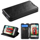 LG Optimus L70 Black Wallet(with Tray)