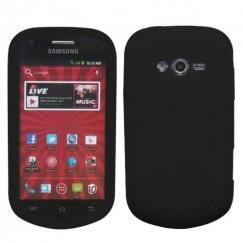 Samsung Galaxy Reverb Solid Skin Cover - Black
