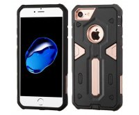 Rose Gold/Black Warrior Hybrid Protector Cover