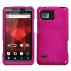 Motorola Droid Bionic Solid Hot Pink Phone Protector Cover
