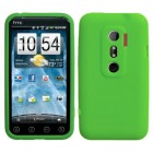 HTC EVO 3D Solid Skin Cover (Dr Green)