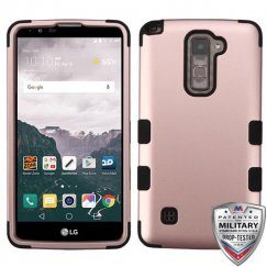 LG LG G Stylo 2 Plus Rose Gold/Black Hybrid Case