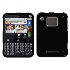 Motorola Charm Solid Black Case