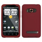 HTC EVO 4G Solid Skin Cover - Maroon