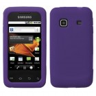 Samsung Galaxy Prevail Solid Skin Cover (Dr Purple)