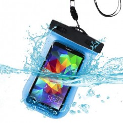 Universal Blue Waterproof Bag (with Lanyard and Armband)