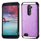 Purple Glitter(Silver Plating)/Black Astronoot Protector Cover