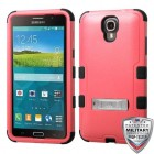 Samsung Galaxy Mega 2 Natural Pink/Black Hybrid Phone Protector Cover (with Stand)