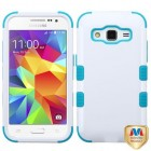 Samsung Galaxy Core Prime Ivory White/Tropical Teal Hybrid Case