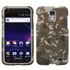Samsung Galaxy S2 Skyrocket Lizzo Digital Camo/Yellow Case