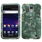 Samsung Galaxy S2 Skyrocket Lizzo Digital Camo/Green Case