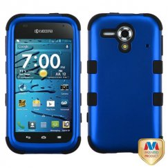 Kyocera Hydro Edge Titanium Dark Blue/Black Hybrid Case
