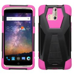 ZTE Axon Pro Hot Pink Inverse Advanced Armor Stand Case