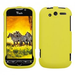 HTC myTouch 4G Yellow Case - Rubberized