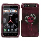 Motorola Droid RAZR I Heart Rock (2D Silver) Sparkle Phone Protector Cover
