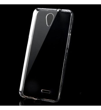 ZTE Avid Plus / Maven 2 Glossy Transparent Clear Candy Skin Cover