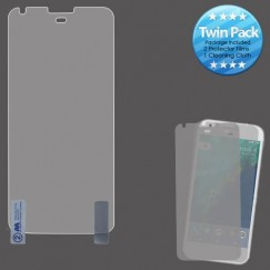 Google Pixel Screen Protector Twin Pack- Strong Adhesion & Ultra-thin